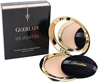 Guerlain Les Voilettes Translucent Compact Powder - 4 Dore for Women - 0.22 oz