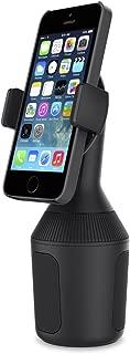 Belkin F8J168BT - Soporte de Smartphones para portavasos de Coche (Soporte para el portavasos de iPhone 11, 11 Pro, 11 Pro Max, XS Max, XS, XR, X y Dispositivos de Samsung, LG, Sony, Google y Otros)