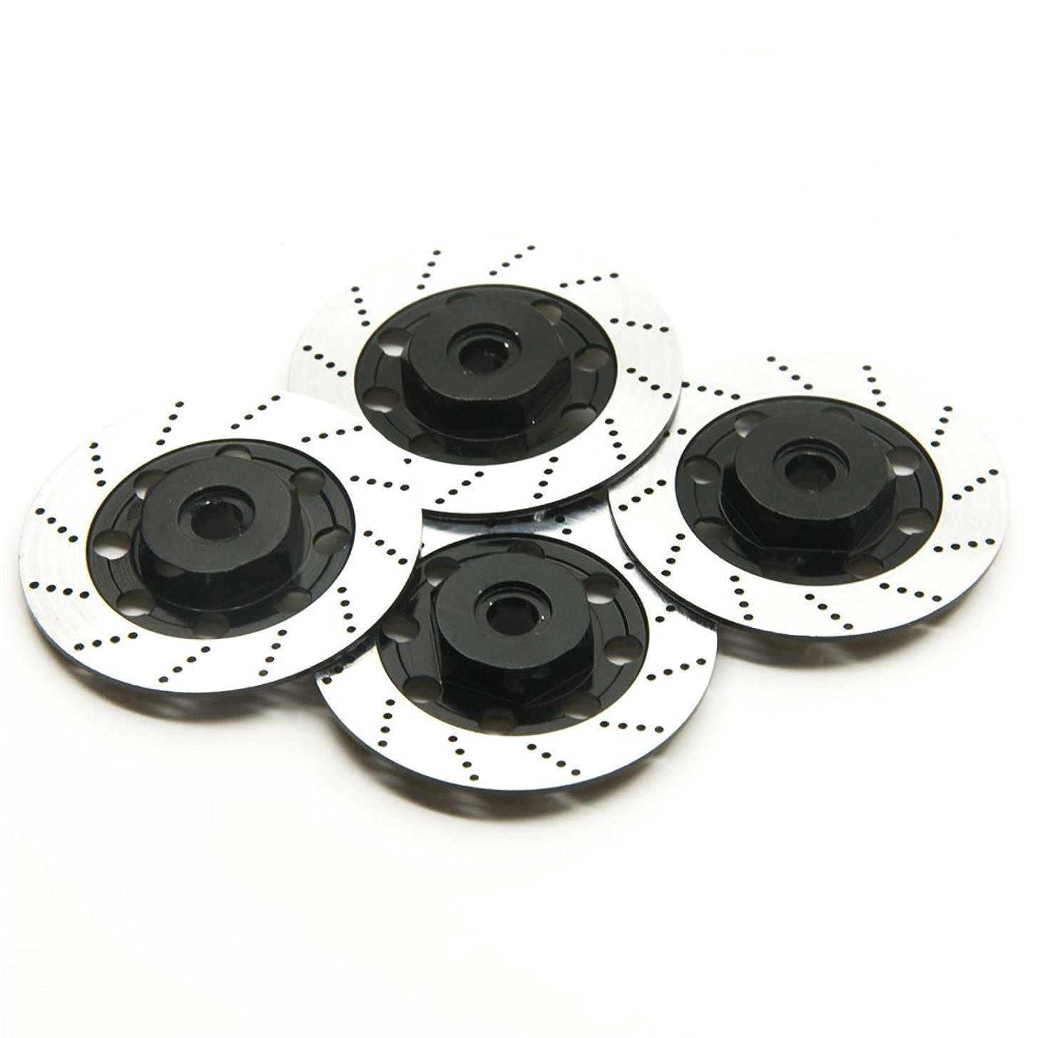 オーストラリアフェンス宝ブレーキディスク ホイールのドレスアップ ローター ディスクブレーキローター (ブラック)