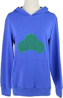 Yesui Unisex Hooded Sweatshirt Cosplay Costume Candy Color Jacket Hoodie