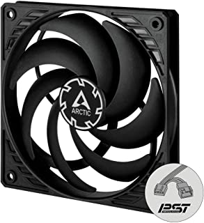ARCTIC P12 Slim PWM PST - 120 mm Case Fan with PWM Sharing Technology (PST), Pressure-optimised, Quiet Motor, Computer, Ex...
