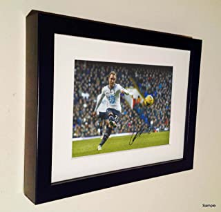 Kitbags & Lockers Signed Christian Eriksen Tottenham Hotspur Spurs Autograph Photo Picture Frame 2