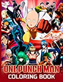 One Punch Man Coloring Book: Great Coloring Books For Adult. Cool Images For All Ages