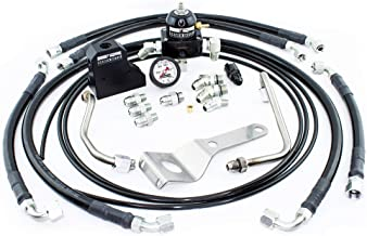 Driven Diesel Fuel Bowl Delete Regulated Return Fuel System Kit Compatible with 1999-2003 Ford 7.3L Powerstroke Diesel
