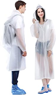 HLK.Sports Raincoat, [2 Pack] Portable EVA Rain Coats...