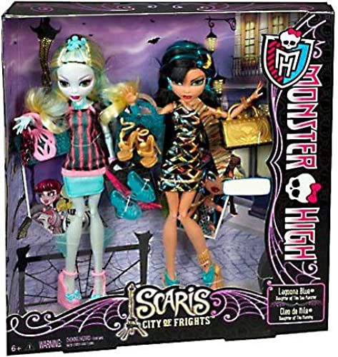 Monster High Svoitureis Exclusive 2-Pack Lagoona bleu Cleo De Nile