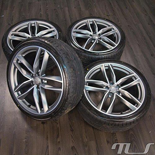 Audi Original Llantas de 20 pulgadas para A6, S6 y 4G, con neumáticos de verano