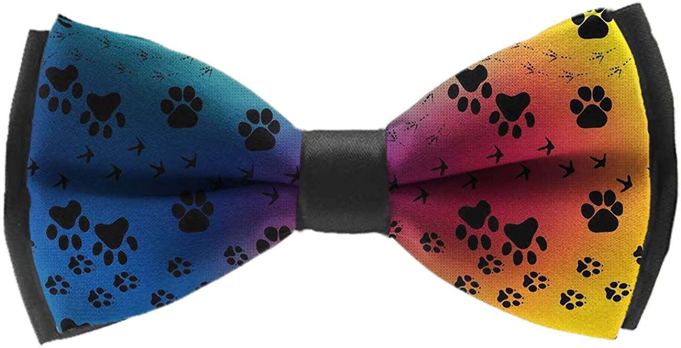 Pre-tied Adjustable Men's Bow Tie for Boys Gift