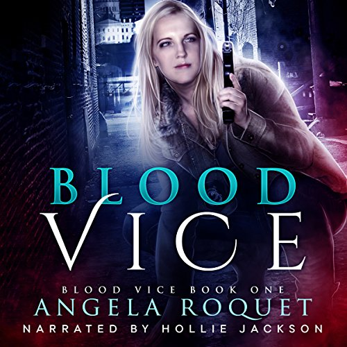 Blood Vice audiobook cover art