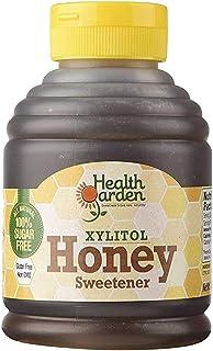 Health Garden Birch Xylitol Sugar Free Honey - Non GMO - Kosher - Made in the U.S.A. (14 oz)