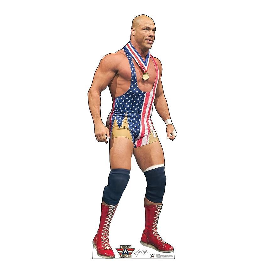 Advanced Graphics Kurt Angle Life Size Cardboard Cutout Standup - WWE