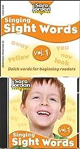 Singing Sight Words, vol. 1, CD/book kit