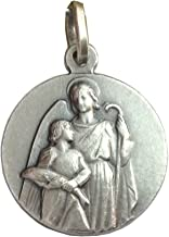 Igj Medalla de San Rafael Arcángel de Plata Maciza 925