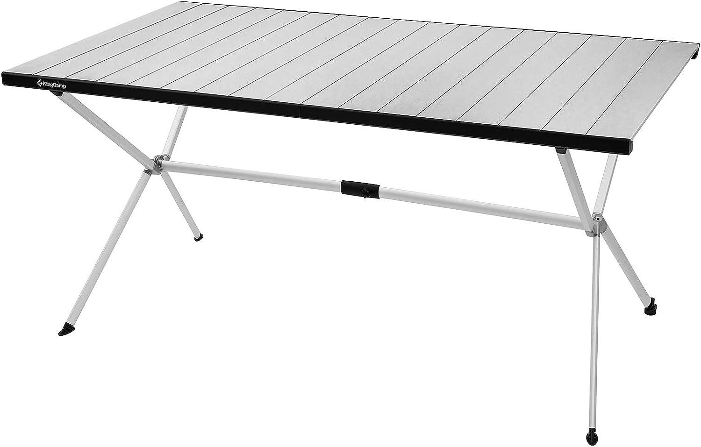 KingCamp Lightweight Aluminum Alloy ☆送料無料☆ 当日発送可能 Table Portable Folding Stron 一部予約