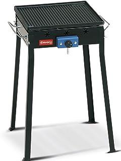 Fornello a gas per paella pentole ecc. potenza 7,5/kW a 30/mbar Ideale per padelle per paella wok grill per paella 30/cm di diametro 2/anelli di combustione piastre in ghisa per barbecue