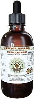 Fenugreek Alcohol-FREE Liquid Extract, Organic Fenugreek (Trigonella foenum-graecum) Dried Fruit Glycerite 4 oz