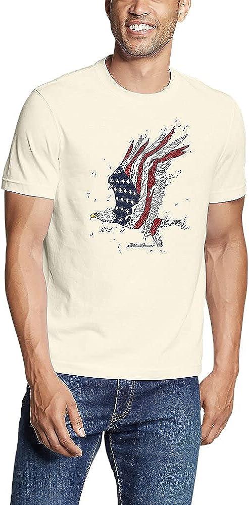 Eddie Bauer Men's Graphic T-Shirt - Soaring Patriot