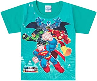 Camiseta infantil Liga da Justiça Verde - Brandili