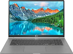"LG Gram 17"" WQXGA (2560 x 1600) IPS Ultra-Lightweight Laptop, Intel Quad-Core i7-8565U up to 4.6GHz, 16GB DDR4, 256GB SSD, Backlit Keyboard, Fingerprint ID, Thunderbolt, Bluetooth, Webcam, Windows 10"