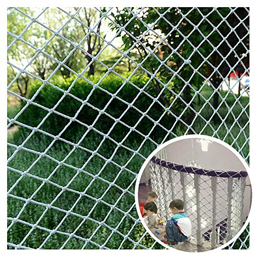 WWWANG Seilnetz, Spalier Garten Netting Pflanze Klettern Dekoration-Fisch-Fracht-Vogel Retrokindersicherheit Anti-fällt Schutz Folding Gitter Gitter Ersatz Tornetz, 1 * 1 m (3,3 * 3.3ft) -Larger Größe