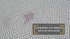 Amazon.com: Fab Habitat tapete para piso interior/exterior ...