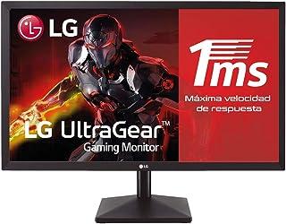 """LG 24MK400H-B - Monitor Gaming de 59,8 cm (23.8"""") Full HD (1920 x 1080, TN, 16:9, HDMI x1, D-SUB x1, AUX x1, 1ms, Antirefl..."""
