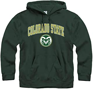 Campus Colors NCAA Adult Arch & Logo Gameday Hooded Sweatshirt