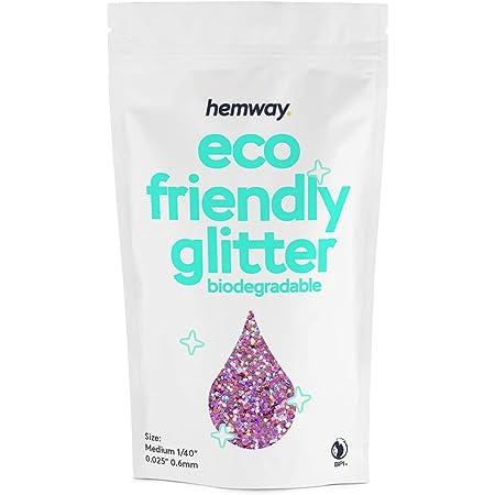 Hemway Biodegradable Eco Body Glitter Cosmetic Safe 100g Medium 1 40 Beauty