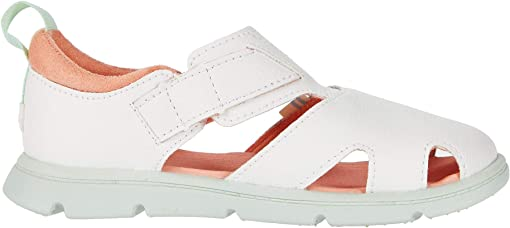 White Synthetic Suede