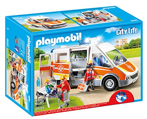Playmobil: Ambulancia con luces y sonido