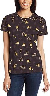 XiangHeFu T-shirt voor vrouwen meisjes schattige kleine ster aangepaste korte mouw