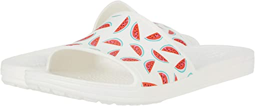 Watermelon/White