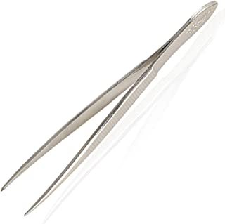Titania Germany Splinter Tweezers Pointed - Surgical Grade Conical Tip - Precise & Exact Hair Plucker & Remover for Home & Professional Use - Made In Germany