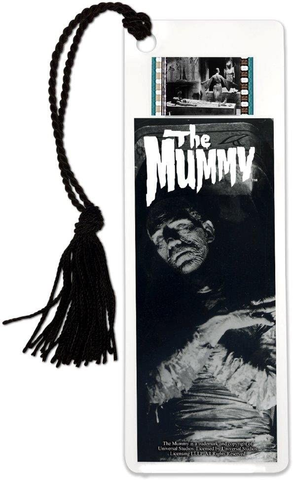 Industry No. 1 Universal Popular standard Monsters The Mummy Series 1 Film Cell Bookmark