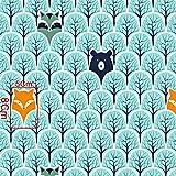 Pingianer 11,99€/m 100x160cm Fuchs 100% Baumwolle
