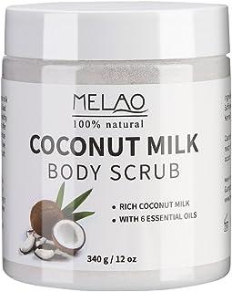 Body Scrub, Exfoliating Scrub Ultra-hydraterend en organisch, Striae, Voedende essentiële lichaamsverzorging Gladmakende h...
