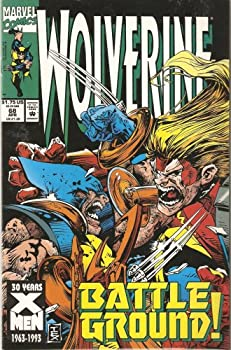 Staple Bound Wolverine #68 April 1993 Book