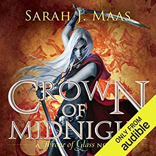 Crown of Midnight     A Throne of Glass Novel              Written by:                                                                                                                                 Sarah J. Maas                               Narrated by:                                                                                                                                 Elizabeth Evans                      Length: 12 hrs and 25 mins     108 ratings     Overall 4.6