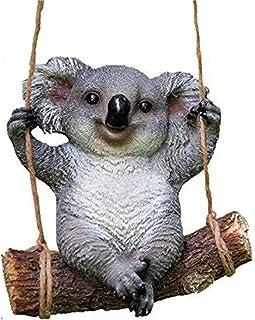 Animal Garden Statue - Cute Koala Bear Outdoor Sculpture Ornaments Décor Best Statues for Patio Lawn House