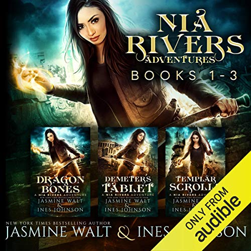 The Nia Rivers Adventures, Books 1-3 Audiobook By Jasmine Walt,                                                                                        Ines Johnson cover art