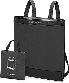 Moleskine - Mochila plegable y plegable en práctica bolsa, color gris pastel