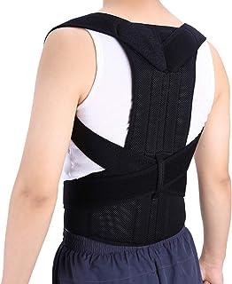 Adjustable Adult Corset Back Posture Corrector Therapy Shoulder Lumbar Brace Spine Support Belt