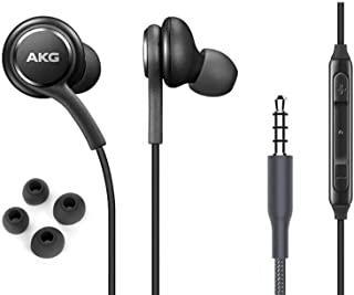 OEM ElloGear Earbuds Stereo Headphones for Samsung Galaxy S10 S10e Plus Cable - Designed by AKG - with Microphone and Volu...