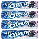 Oreo Erdbeerekäsekuchens Biskuits 154G (Packung mit 4)