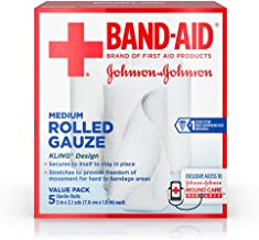 johnson and johnson rolled gauze