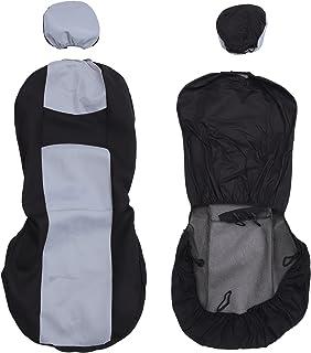 FAVOMOTO Capa de assento de carro serve na frente para dois assentos, capa de assento automotivo antipoeira para carros, c...