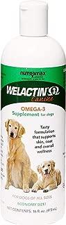 V.T.E. Inc. Vet Nutra max Welactin Canine Omega-3 Liquid Dog Supplement, 16-oz