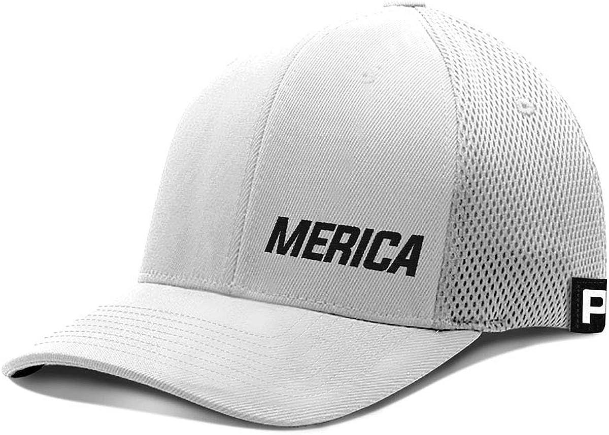 Printed Kicks Merica Lower Year-end annual account Left Omaha Mall Hat B Mesh Flex Fit Baseball Cap