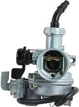 XFMT Carburetor Carb Fuel System Compatible with Honda 3 Wheeler ATC125 ATC125M ATC 125M 1984 1985 ATV Carb