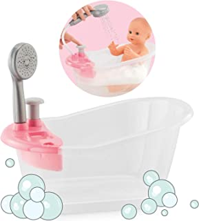 "Corolle - Bathtub with Shower - Bath Play Set For 12"" & 14"" Baby Dolls"